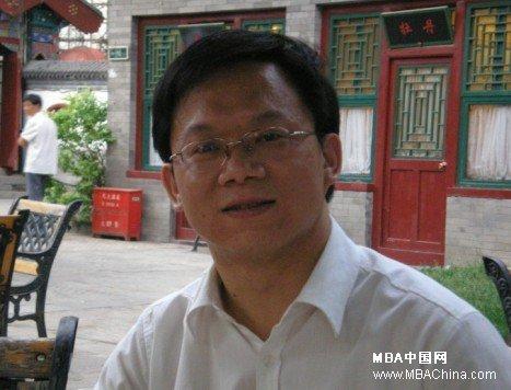 中央民族大学MBA中心主任黄锐老师