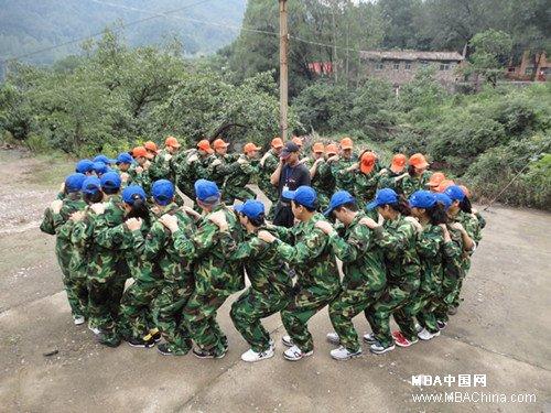 河南工业大学/河南工业大学2011级MBA学员进行外展训练