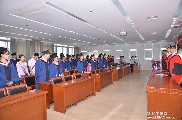 南京工业大学经济与管理学院2015届mba毕业典礼隆重