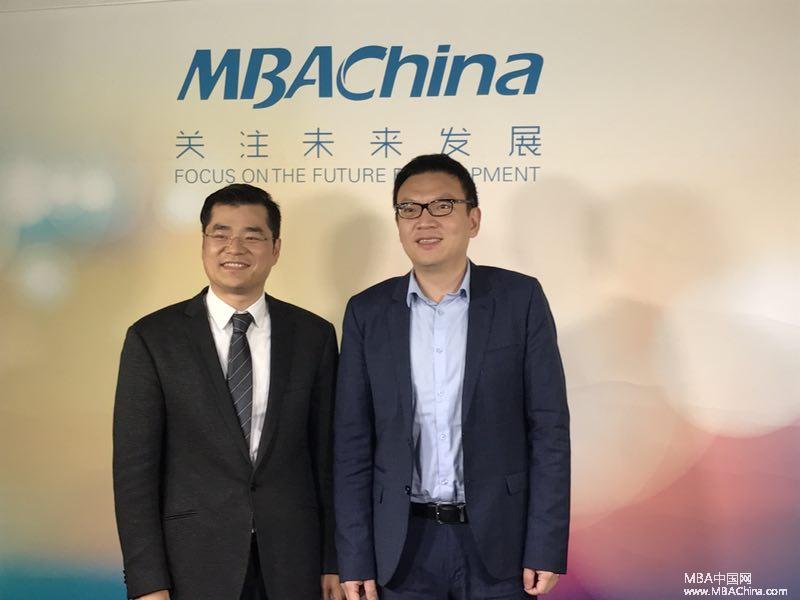 中山大学管理学院王帆院长一行做客MBAChina