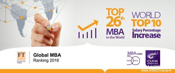 香港中文大学 MBA 北京招生咨询会