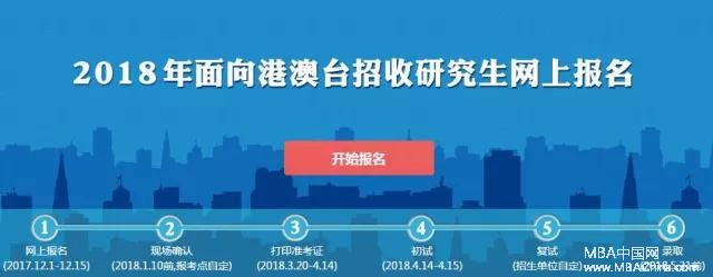 2018年港澳臺研究生招生考試報名注意事項
