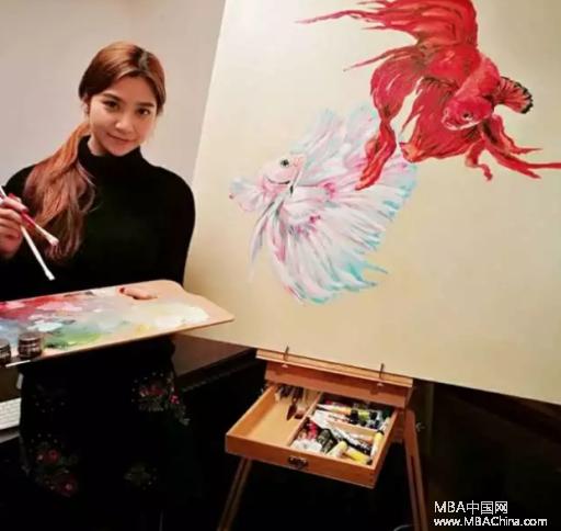 长江MBA新生胡琼晶:用艺术撬动商业世界