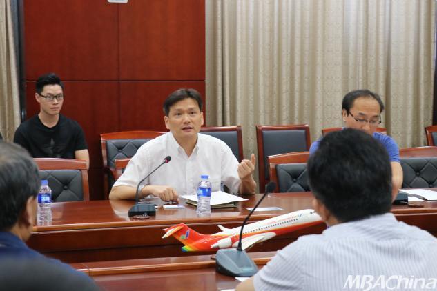 经管学院赴上海开展国防企业面对面调研