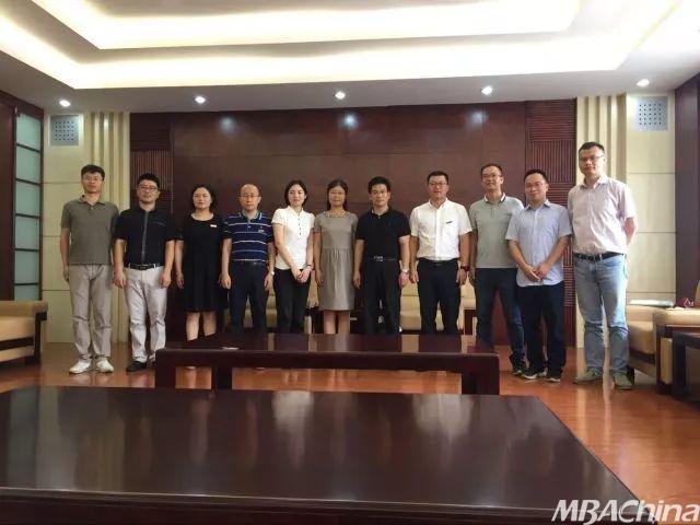 浙江财经大学商学院院长一行走访看望台州MBA校