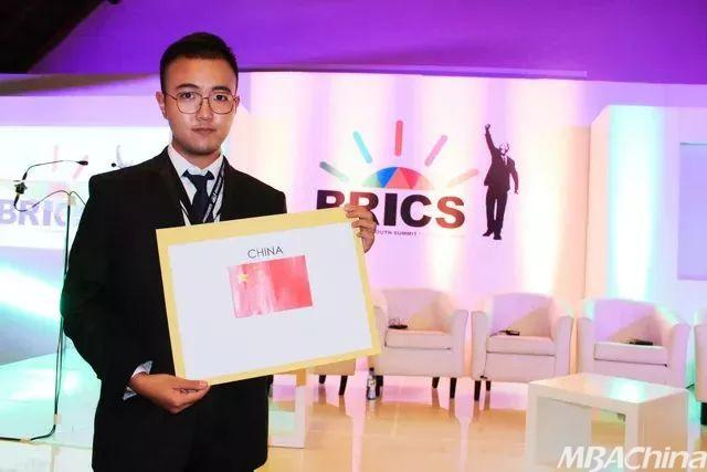 海大学子崔亦维赴南非参加第四届金砖国家青年峰会