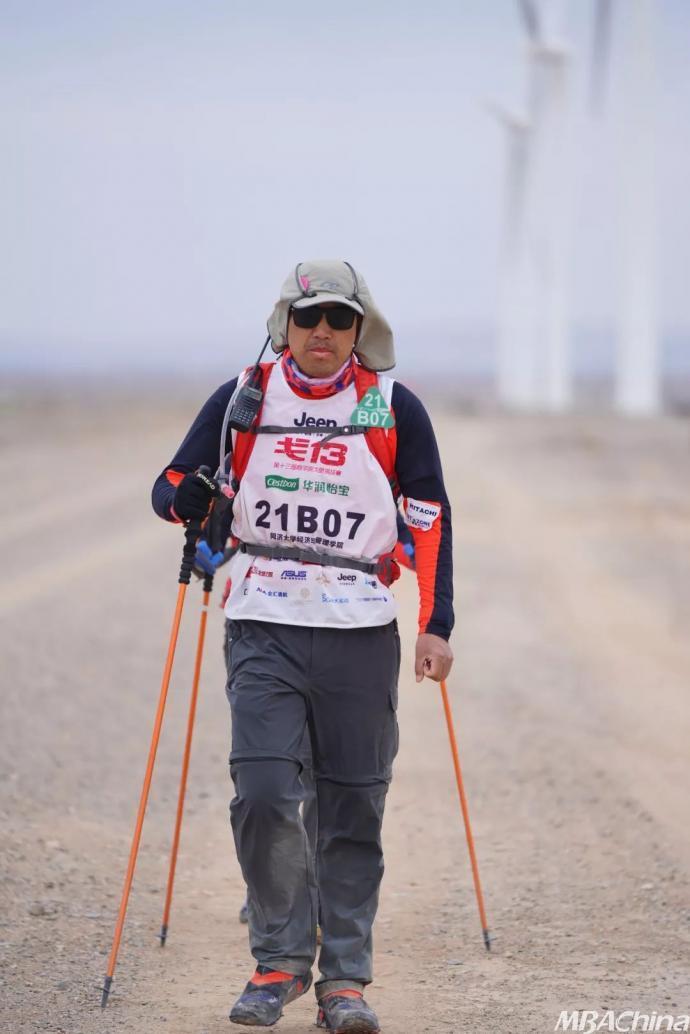 张四平:人生是一场马拉松 每一步都不会浪费