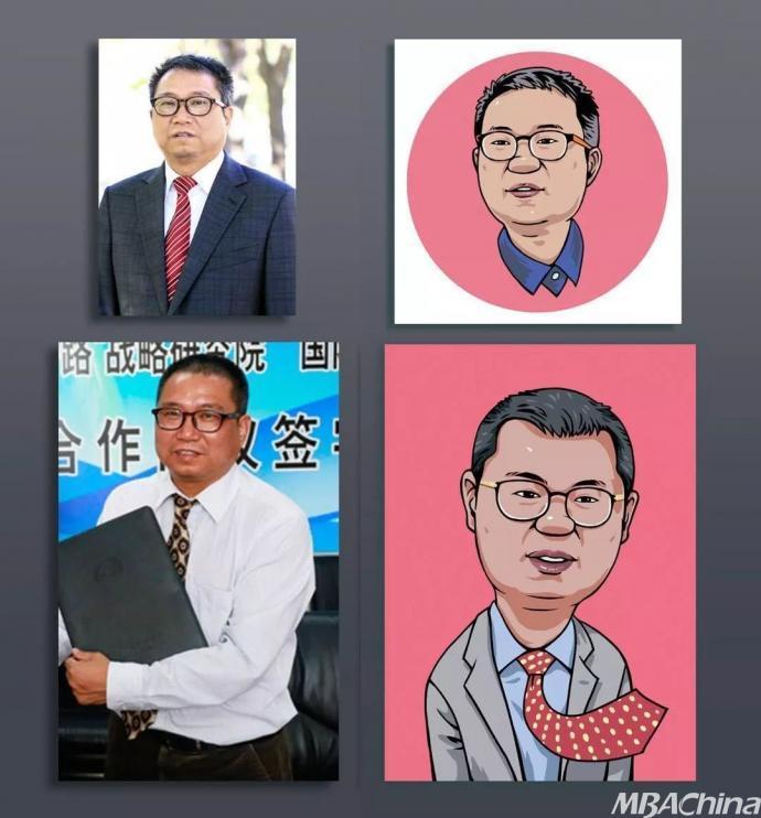北京第二外国语学院校领导Q版漫画头像发布!