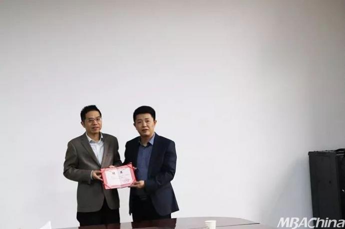"""西北工业大学管理学院举办""""80周年校庆校友书法心火考研"""