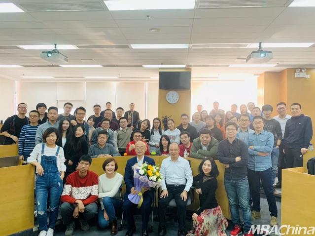 中国人民大学商学院MBA顾问委员进课堂