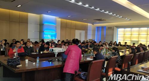 经济管理学院特邀江西财体育经大学张蕊教授前来讲学2018