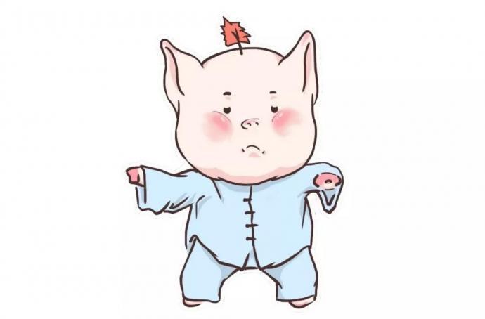 金猪送福   大波萌猪表情包等你来收藏图片