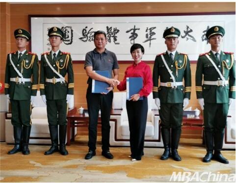 大漠女子学院南太行军事体验基地成功签约